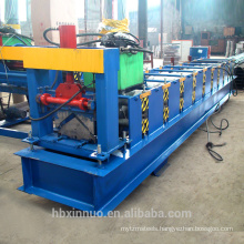 Color steel roof tile ridge cap machine