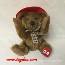 Plush USA Hat Teddy