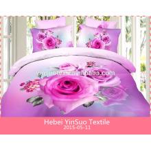 Ensemble de literie maison 3d set home textile..cotton