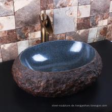 Hohe Qualität Haus Dekor Badezimmer Granit Schiff Spüle Tops