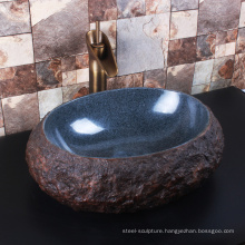 High quality house decor bathroom granite vessel sink tops
