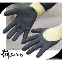 SRSAFETY 13G Cut Resistant Micro Foam Нитрил Рабочая перчатка / арамидные волокна нитриловые рабочие перчатки