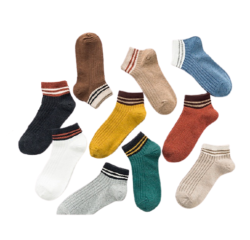 Womens Hot Selling Cute Cotton Low Cut Ankle Socks