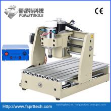 Enrutador de madera CNC profesional Máquina de grabado CNC (CNC3020T)