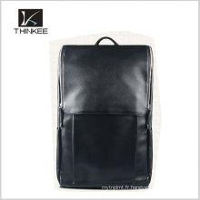 Sac à dos en cuir véritable sac à dos fabricant hommes