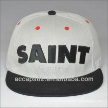 custom 6 panel contrastive snap back hats