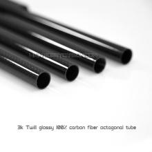 6 * 8 * 1000mm Kohlefaser-Rundrohre für Flugzeuge