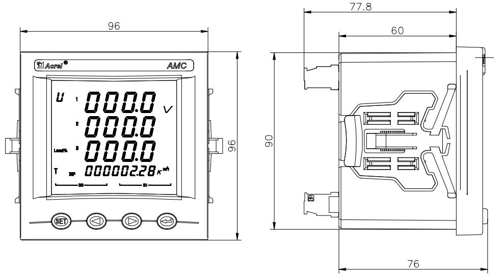 secure kwh energy panel meters