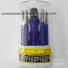 7-in-1-Schraubendreher-Set / Hardware-Tools, Kohlenstoffstahl