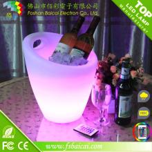 LED recarregável Bar Wine Cooler LED Ice Cubeta