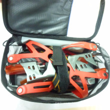 Free Size Aluminum Ice Traction Walking Crampons For Ice Climbing