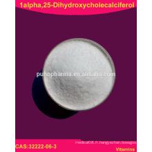 1-apha, 25-Dihydroxycholecalciferol en poudre (32222-06-3) Calcitriol