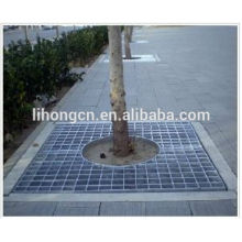 galv steel grating for tree