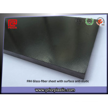 Chine Fournisseur antistatique Fr4 plaque de fibre de verre