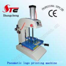 Pneumatic T Shirt Logo Heat Press Machine Air Garment Logo Heat Press Machine Stc-Qd11