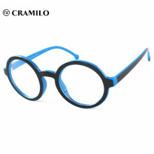 custom round eyeglasses frames without nose pads