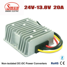 Impermeável 24VDC a 13.8VDC 20A 276W DC DC Buck Converter