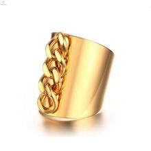 Мода Из Нержавеющей Стали Золотые Цепи Палец Кольца Ювелирные Изделия