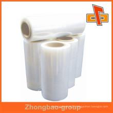 Top quality transparent PE shrink film for bottle beverage packaging