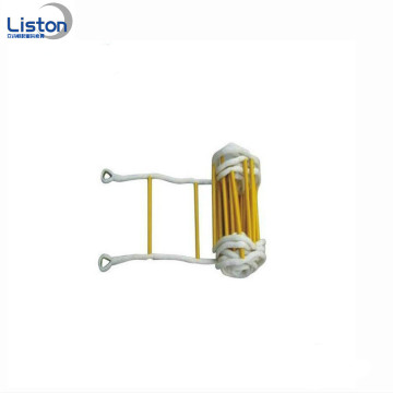 Durable Nylon Folding Safety Fire Escape Rope Stegar