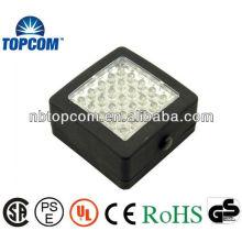 25 LED plastic magnetic LED working light