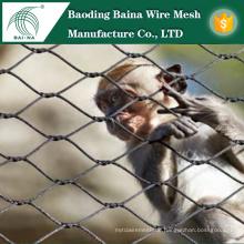 Edelstahl-Maschendrahtzaun für Zoo in China hergestellt