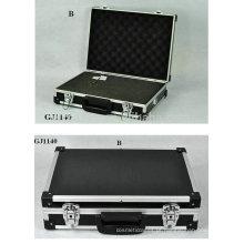 caixa de ferramentas forte & portátil de alumínio com espuma removível de cubos dentro