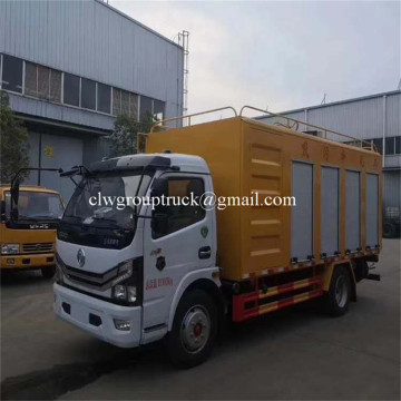 4x2 SEWAGE SUCTION TRUCK with SEWAGE PUMP