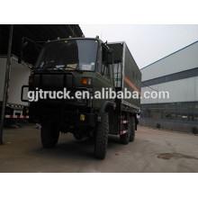 Dongfeng 6X6 fuera de carretera camión caja con capacidad de carga 18-25cbm