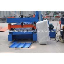 Machine de formage de tuiles, machine de formage de carreaux vitrés, machine à former des rouleaux de tuiles glacés en acier