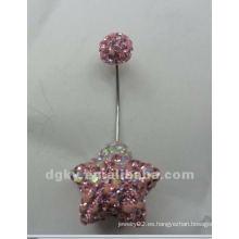 Piercing magnético cuerpo joyas de boda ombligo anillos