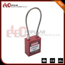 Elecpopular 2017 Products High Quality Oem ISO 45Mm Safety Cable Lock