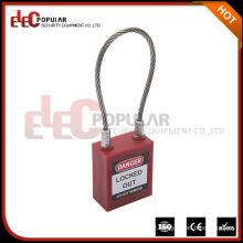 Elecpopular 2017 Produtos de alta qualidade Oem ISO 45Mm Safety Cable Lock