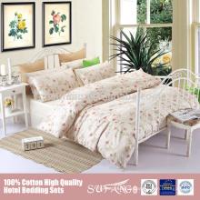 Nantong Fabrik maßgeschneiderte Mode vier Jahreszeiten Luxus Bettwäsche Set