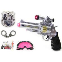 Plastic Electrice Voice Gun mit Polizei Set für Kinder