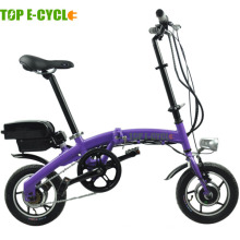 Top e-cycle Made in China mini vélo électrique pliant 250W