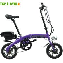 Top e-cycle Made in china 250W mini folding electric bike