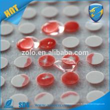 Benutzerdefinierte wasserempfindliche Etikett / Aufkleber, gestanzte Vinylaufkleber