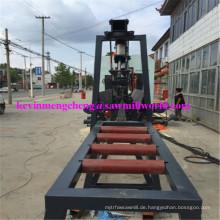 CNC-automatische Band-Sägemühlen-Hochfrequenzzwilling-Vertikalsäge-Schneidemaschine