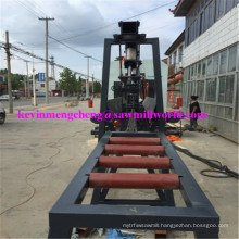 CNC Automatic Band Sawmill High Frequency Twin Vertical Saw Cutting Machine