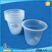 Disposable cheap reusable jelly plastic cup