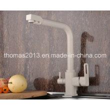 Mélangeur de robinet d'évier de cuisine de peinture de style européen