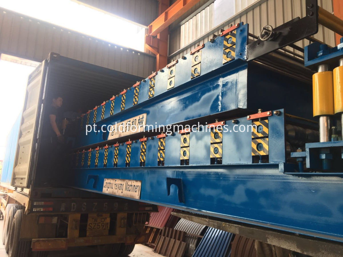 Loading Color Tile Machine