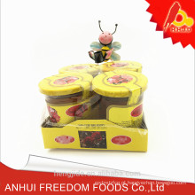 preço puro do mel da abelha da natureza na garrafa pequena de vidro de 80g para venda