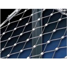 Malla flexible de la cuerda de alambre del acero inoxidable para la red de la pajarera (fábrica de China)