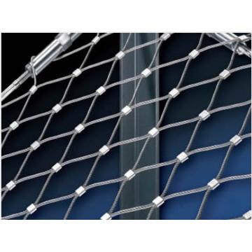 Malla flexible de la cuerda de alambre del acero inoxidable para la red del aviario (fábrica de China)