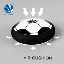 2017 New product funny 9cm air power football for kids plate toy