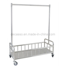 Stainless Steel Clothes Hanger Cart (DD22)