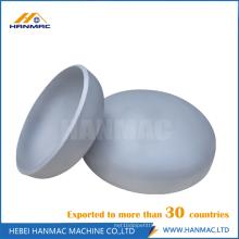 Aluminum pipe cap head