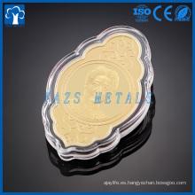 moneda de oro 24k de encargo